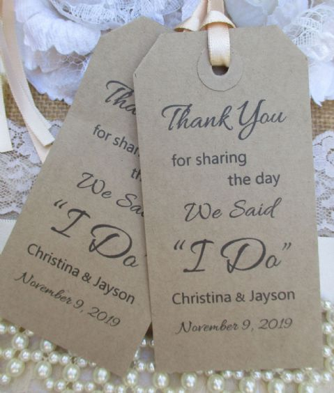 "10 Thank You For Sharing The Day We Said ""I Do"""